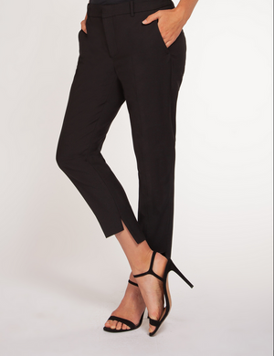 High-Low Hem Work Pant