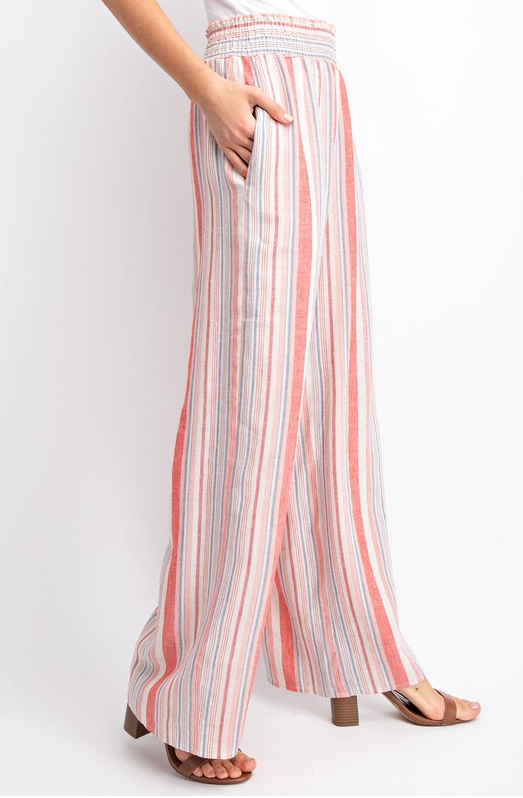 Wide Stripe Pants