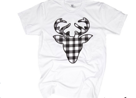 Buffalo Check Deer Top