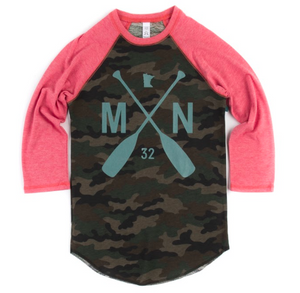 Chippewa Forest Raglan