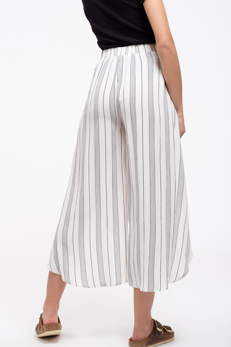 Overwrap Stripe Pants