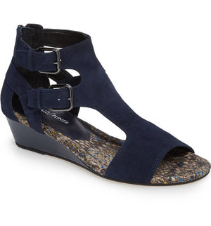 Eden2 Kid Suede Wedge Sandal