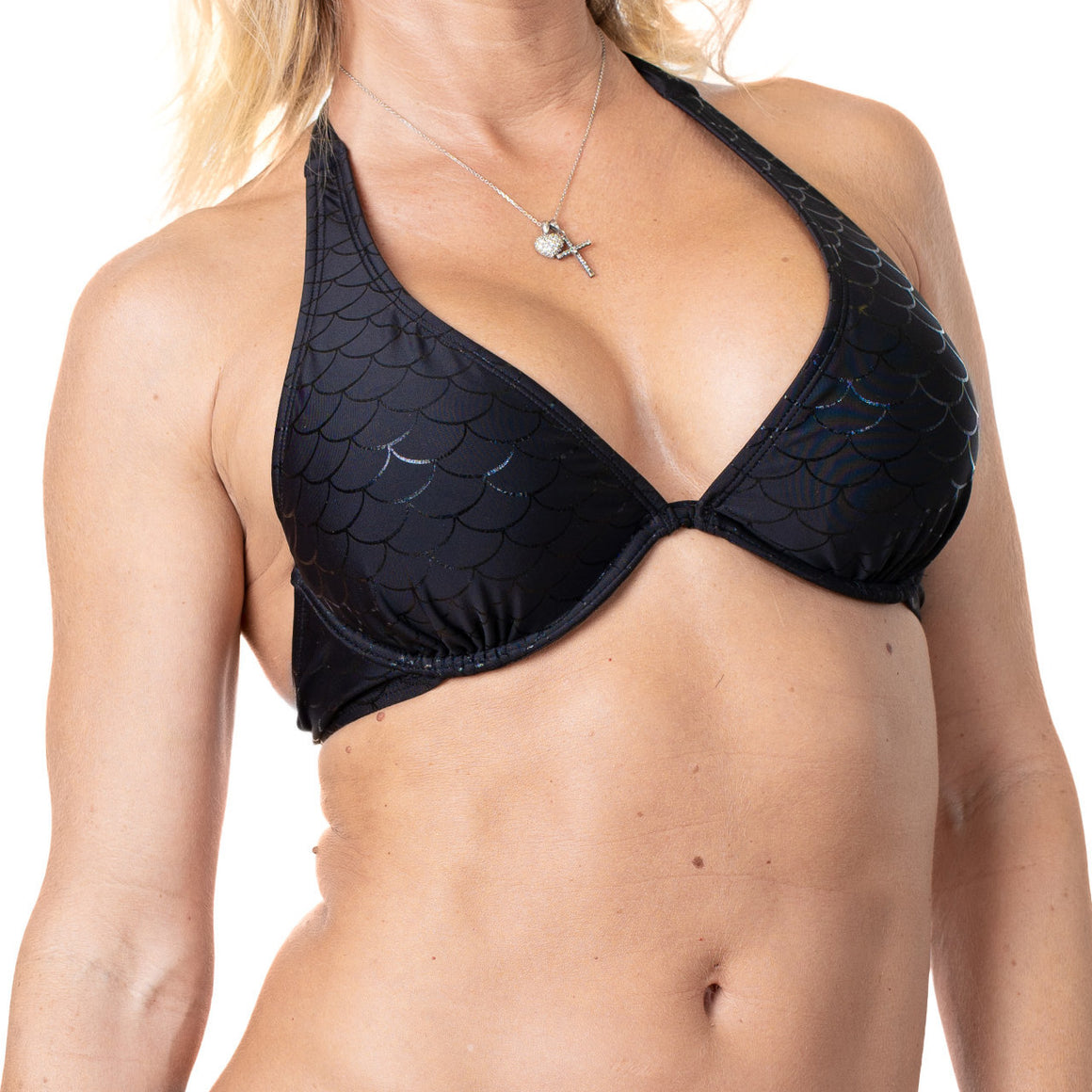 Contemporary Underwire Halter Top