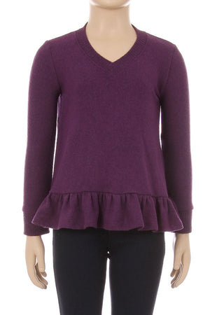 Kids Peplum Overlap Back Top