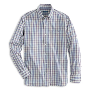 Fish Hippie Blue Valley Plaid Buttondown