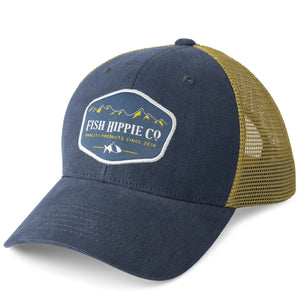 Fish Hippie Elevation Trucker Hat