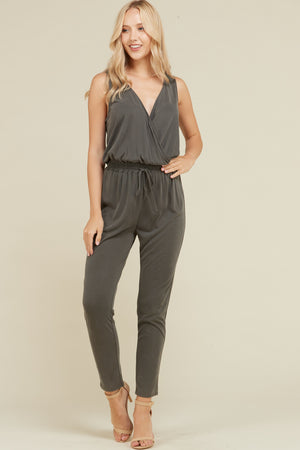 Sand Washed Jumpsuit