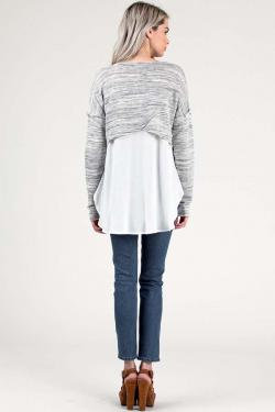 Long Sleeve with Open Back