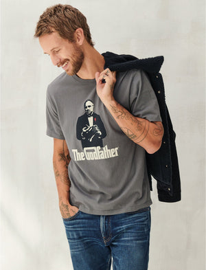 Lucky Brand Godfather Graphic Tee
