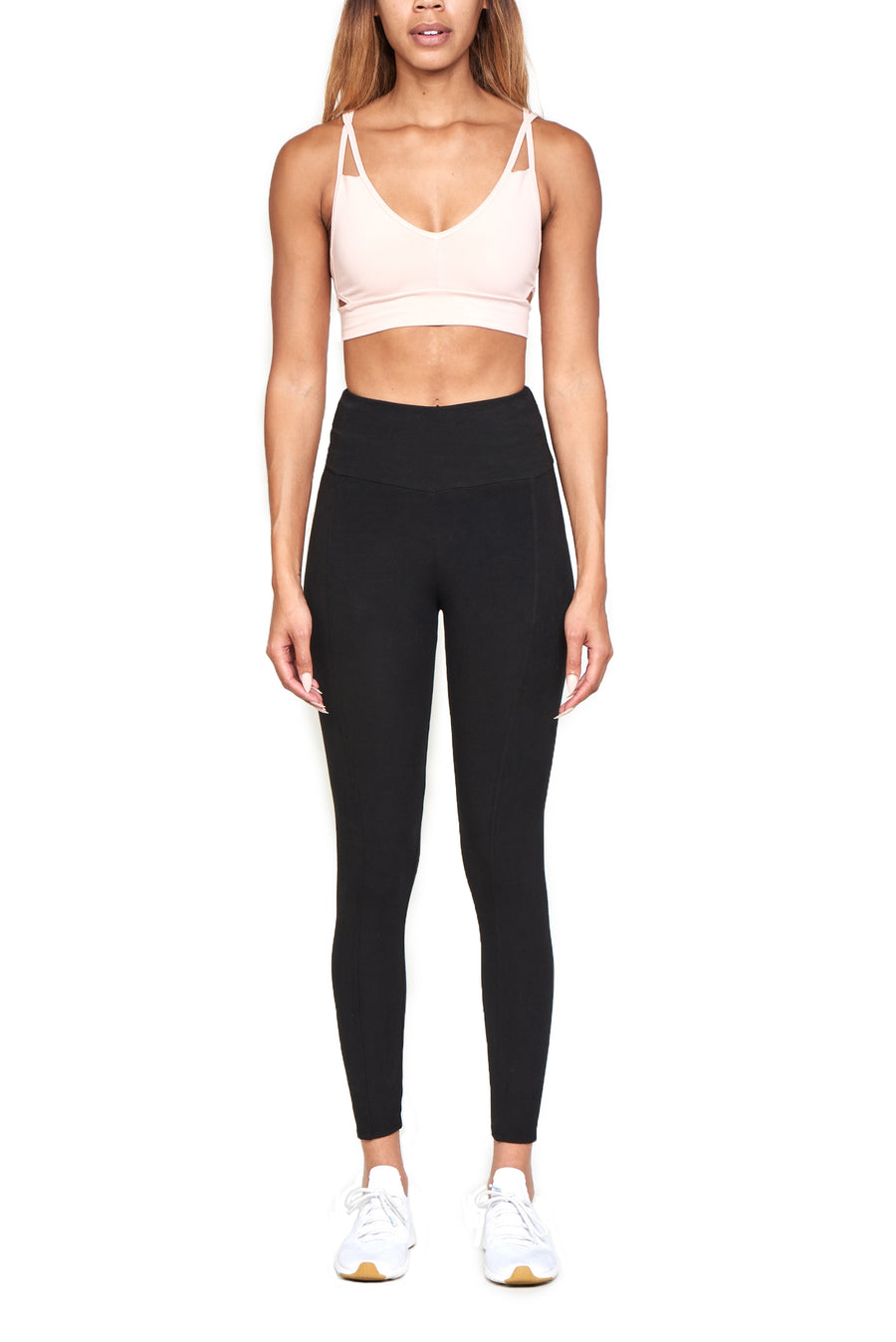 High Waisted Seam Legging