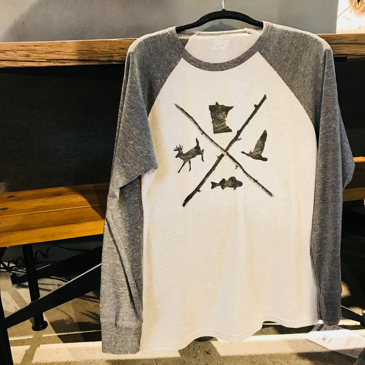 MN Game Raglan LS Shirt
