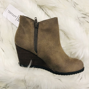 Amiel Wedge Bootie