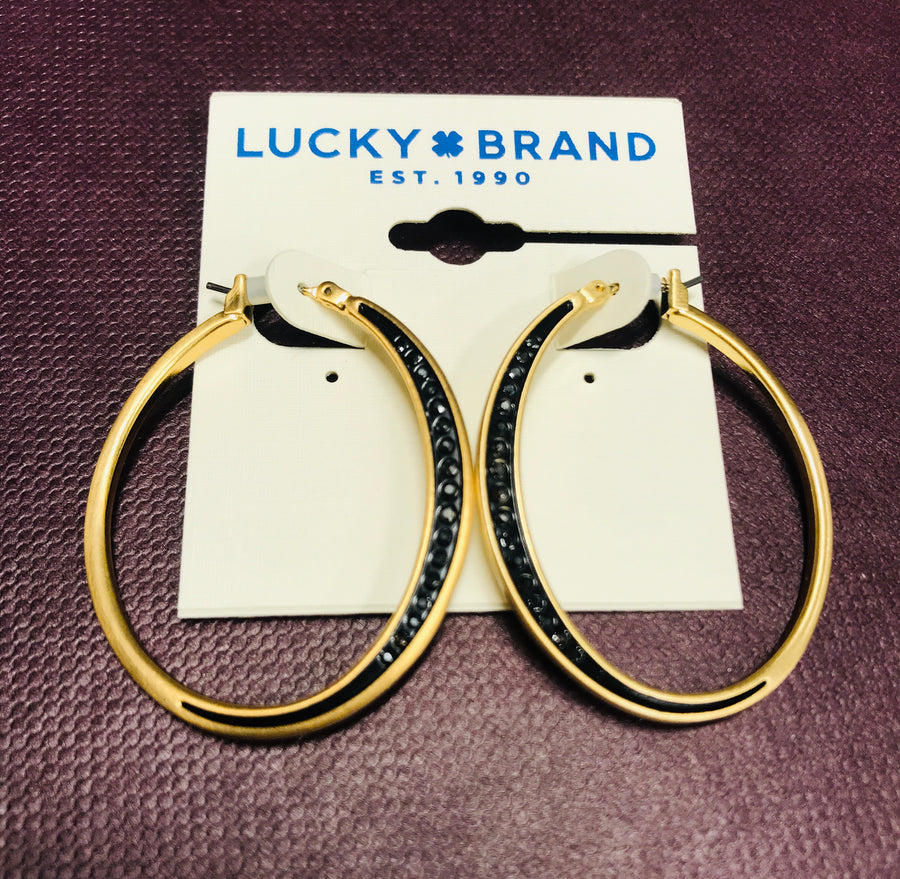 Lucky Brand Hoop Earrings