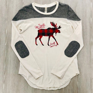 Up North Moose Long Sleeve