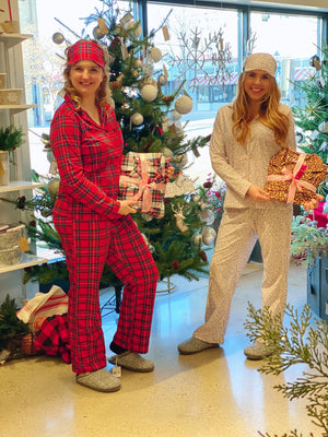Plaid Flannel Pajamas- 4 Colors!
