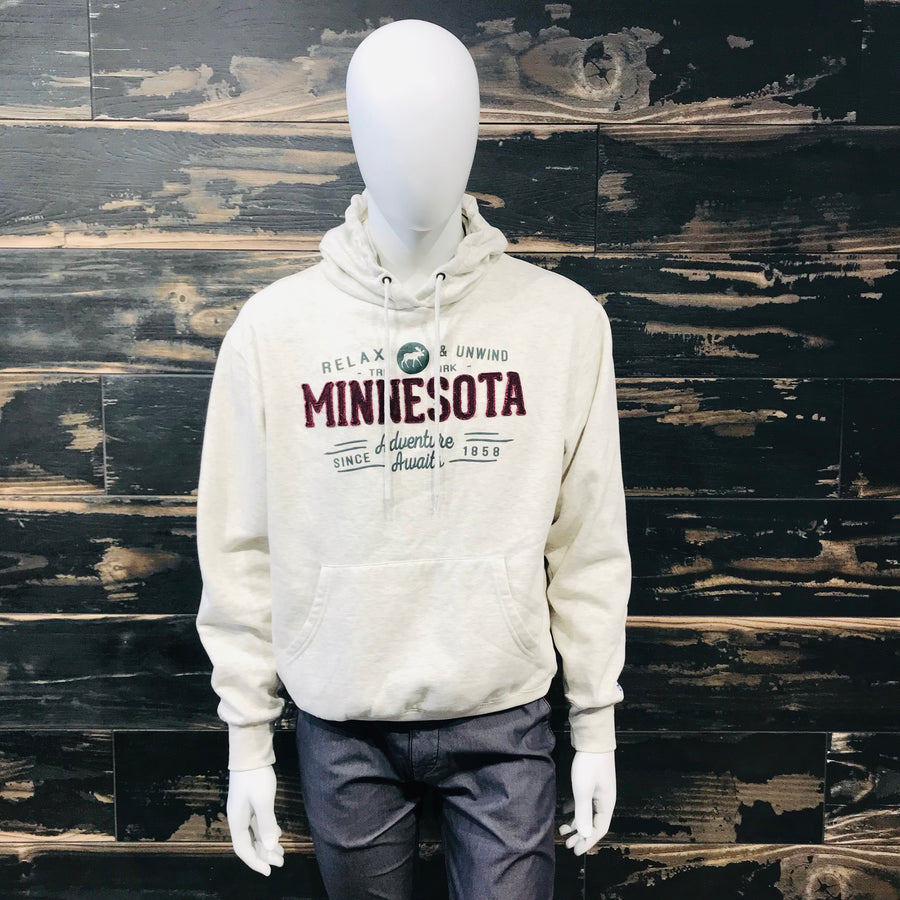 Adventure Awaits MN Hoodie