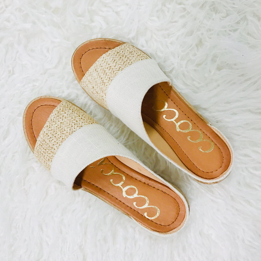 Bambi Natural Sandal