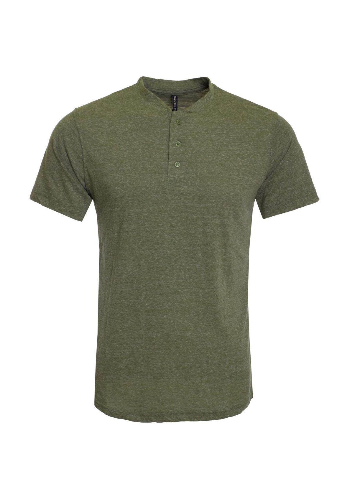 Men's Henley Short Sleeve T-Shirt