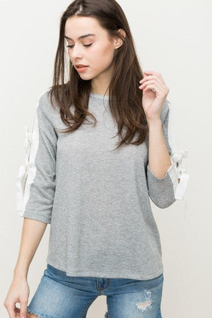 Terry Pullover Top