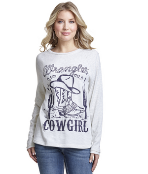 Wrangler Cowgirl Graphic Top