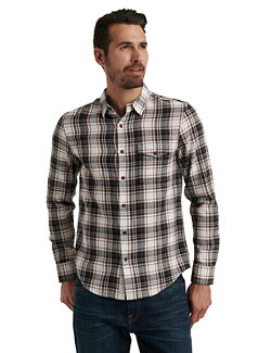 Lucky Brand Herringbone Plaid Shirt