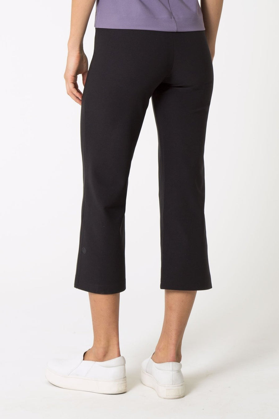 Ebony Cropped Flair Pant