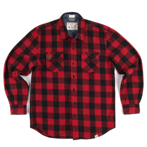 Sota Flannel Plaid Button Up