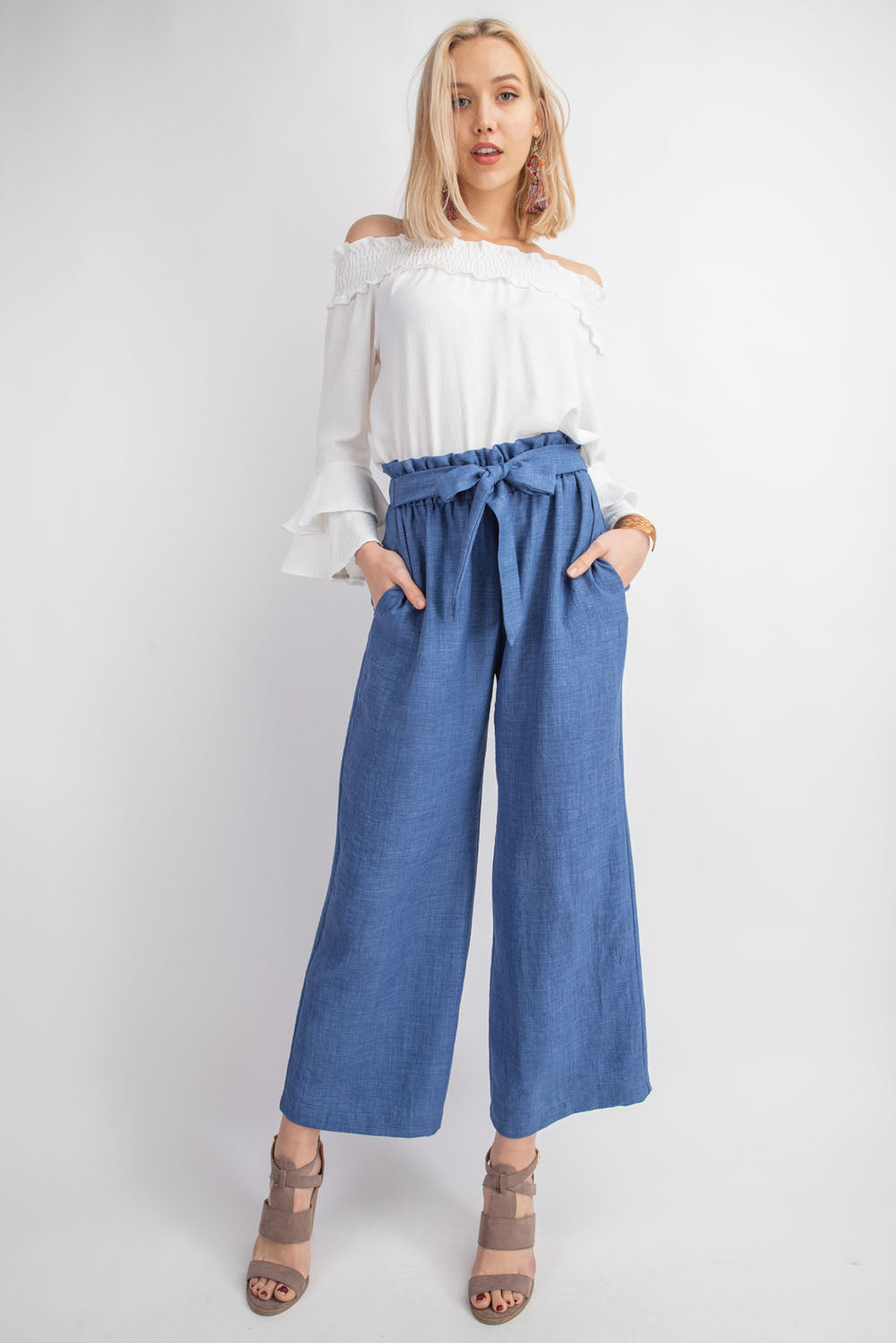 Wide Knot Pants