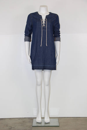 Faith Denim Shift Dress