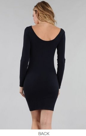 Reversible Long Sleeve Dress