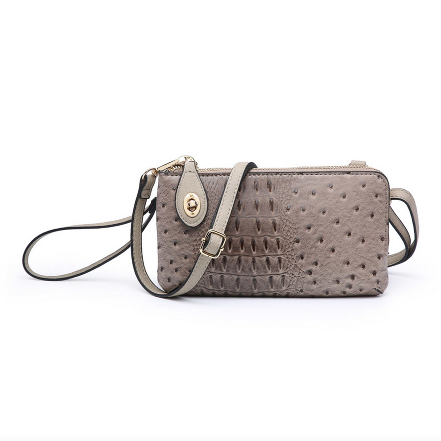 Kendall Twist Lock Wristlet-Crossbody
