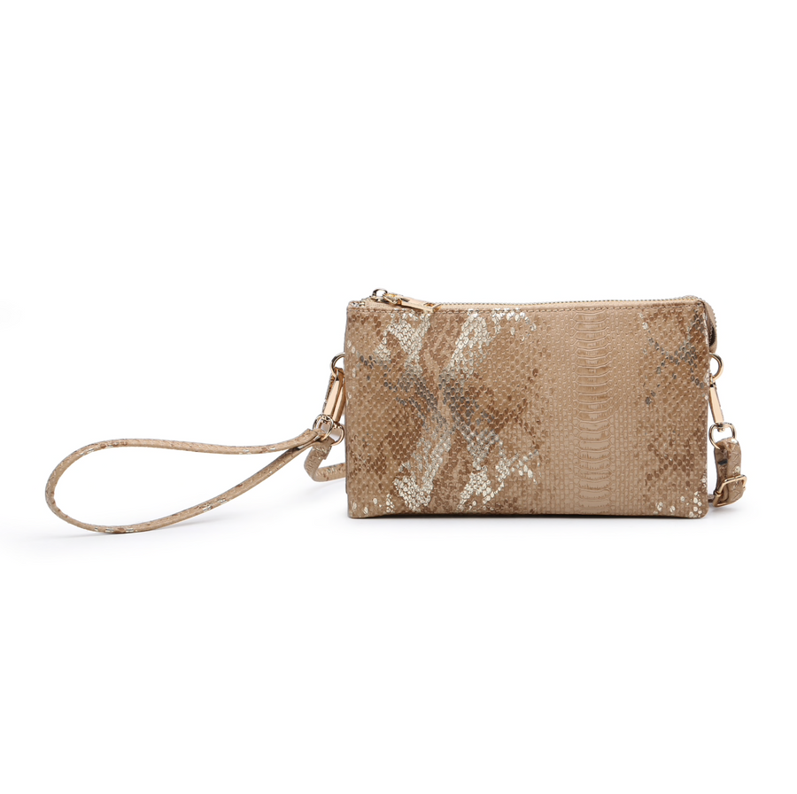 Riley Compartment Wristlet/Crossbody
