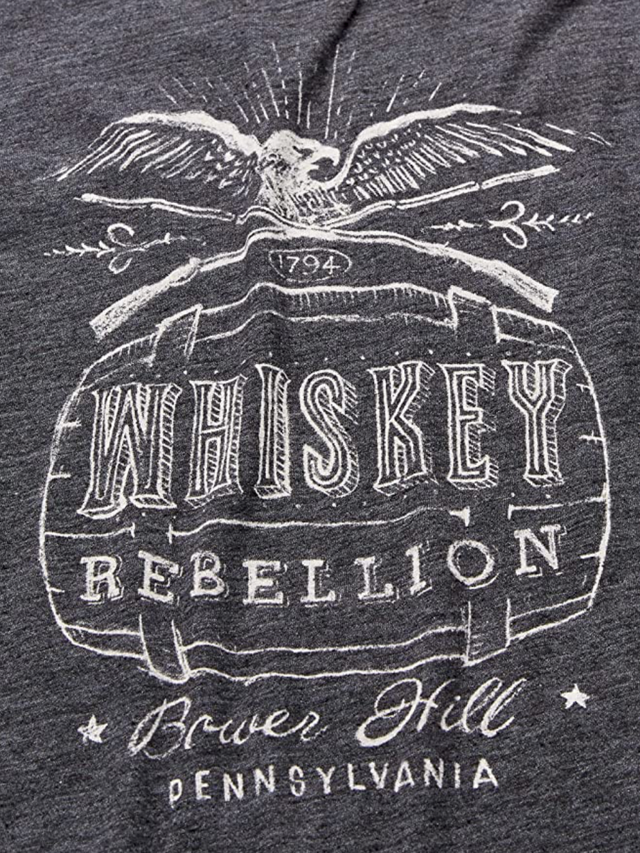 Lucky Brand Whiskey Rebellion T-Shirt