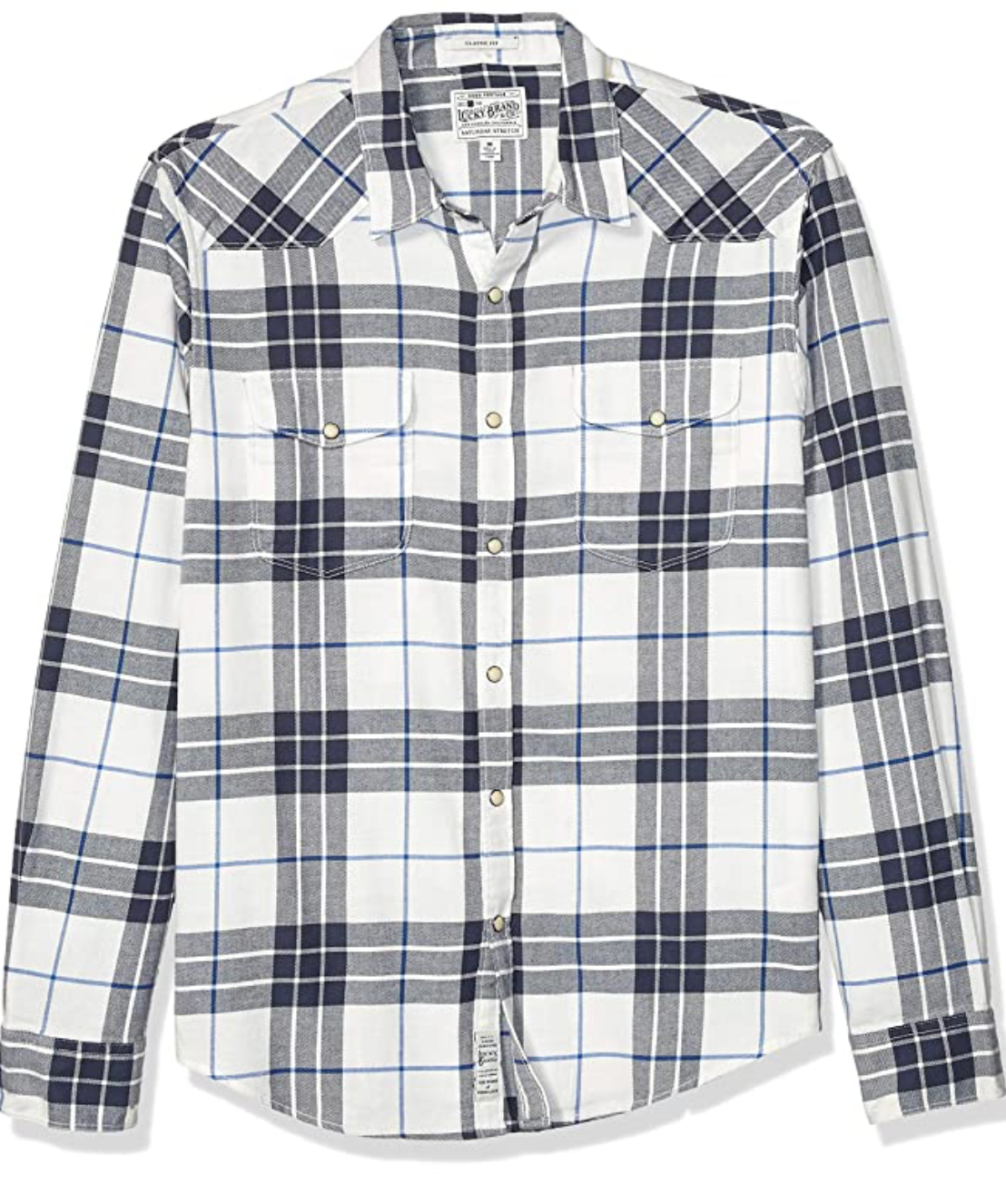 Lucky Brand Saturday Stretch Flannel