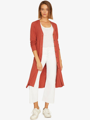 Sundown Knit Duster