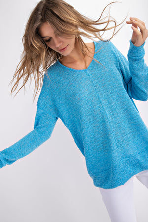Relaxed Sweater Top