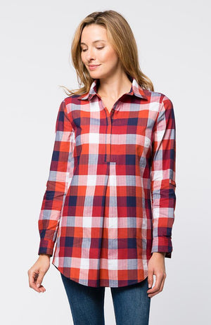 Tina Helmsley Plaid