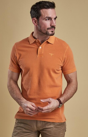 Washed Sports Polo
