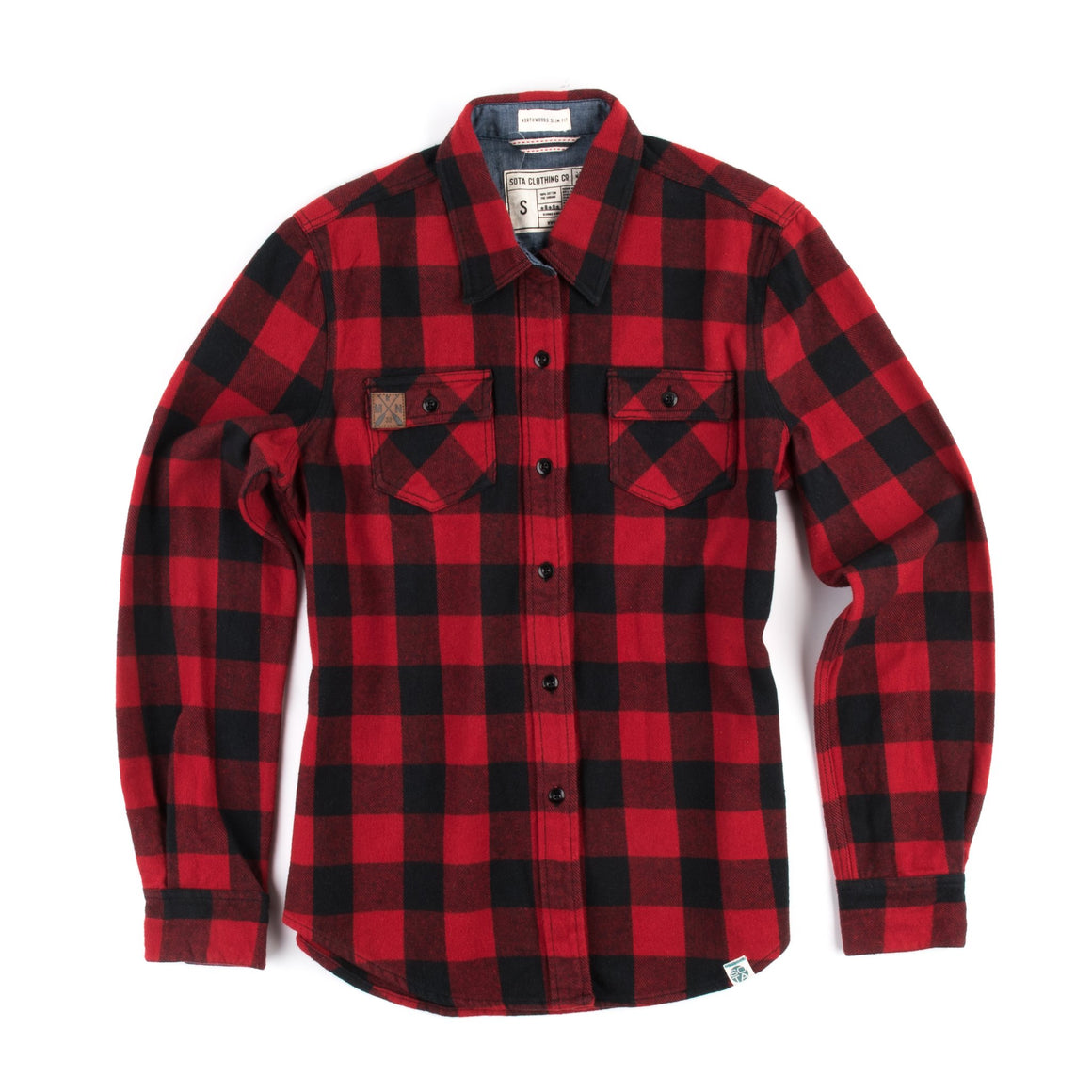 Sota Flannel Button Up