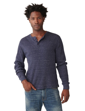 Lucky Brand Snow Heather Henley