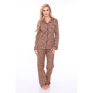 Cheetah Pajama Set