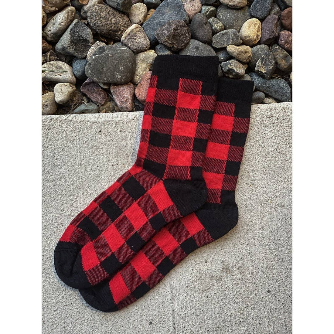 Buffalo Plaid Socks
