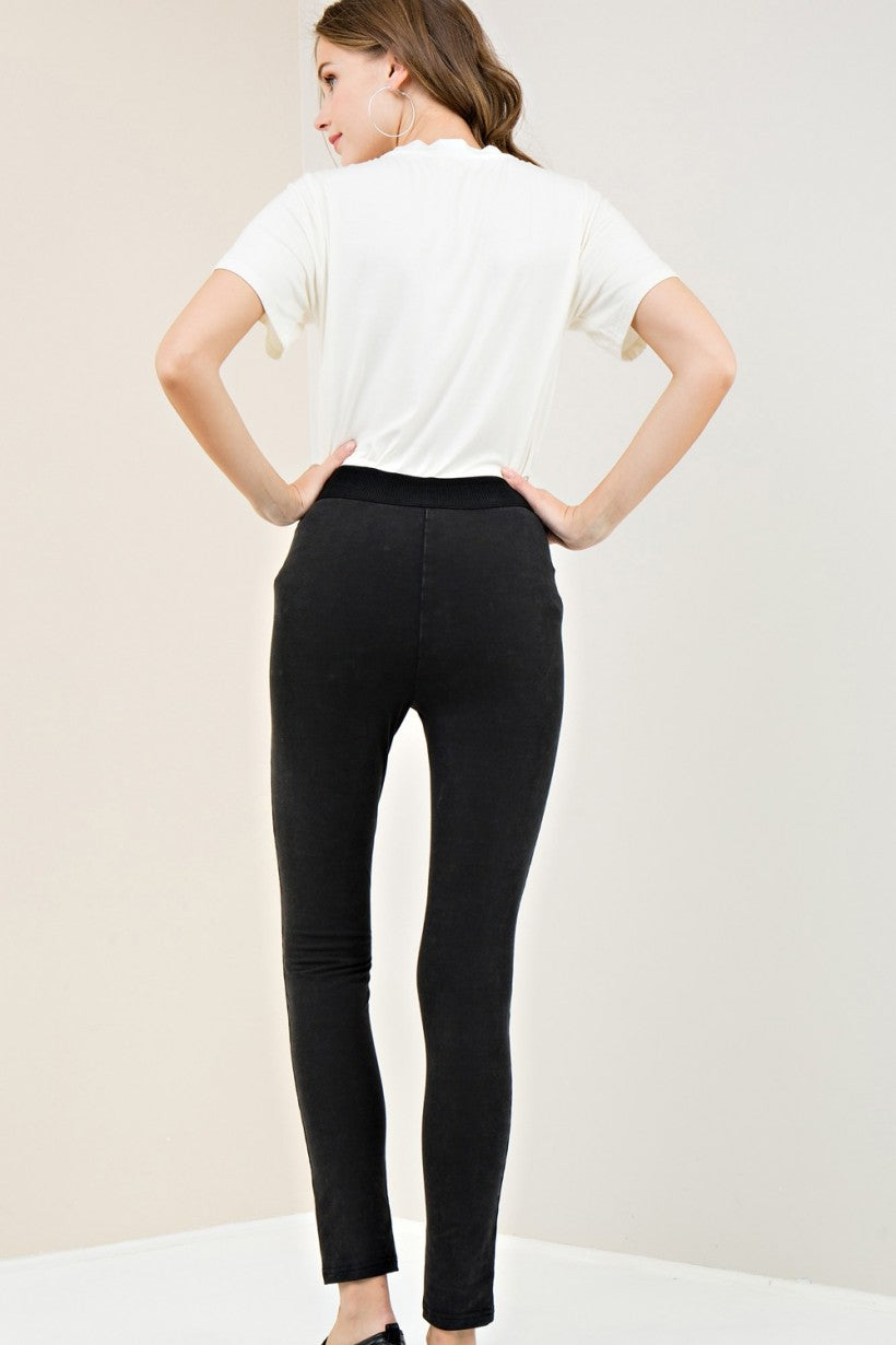 Acid-Was High Waist Leggings