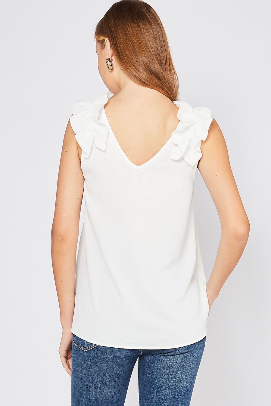 Frill Detailed Top