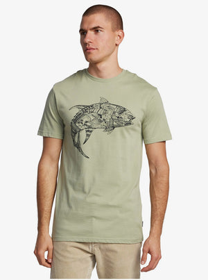Quiksilver Waterman Tattoo Tuna T-Shirt
