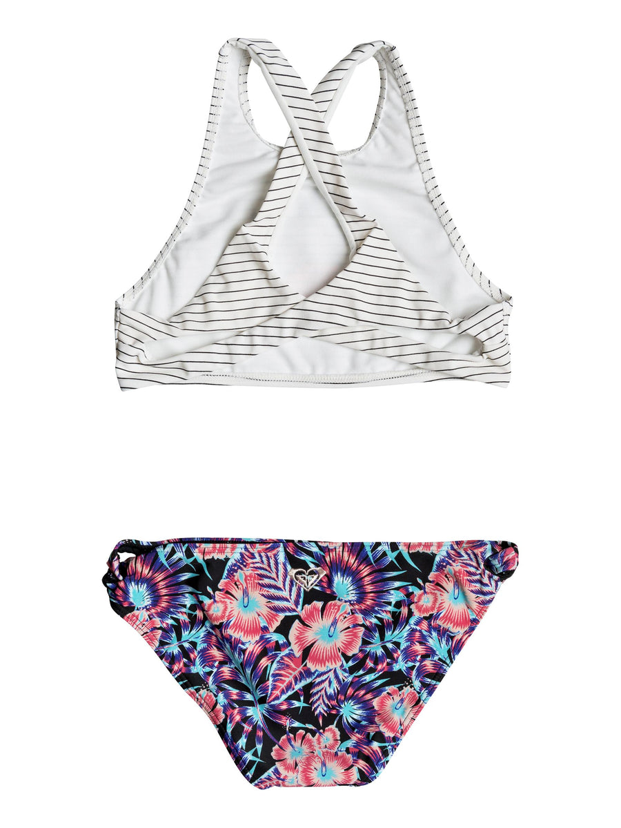 Surfing Miami Crop Top Bikini Set