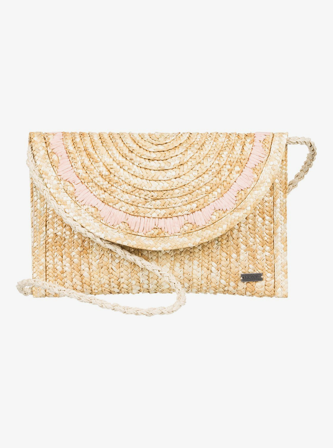 Roxy Salty But Sweet Straw Shoulder Bag