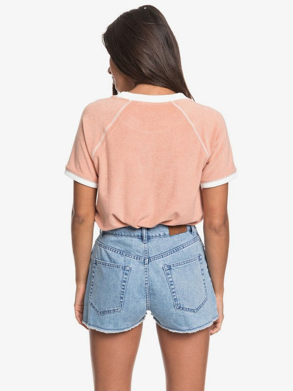 Roxy  Cenitz Sunset Denim Shorts