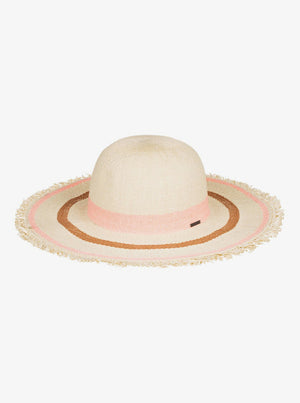 Roxy Sound Of The Ocean Straw Capeline Sun Hat