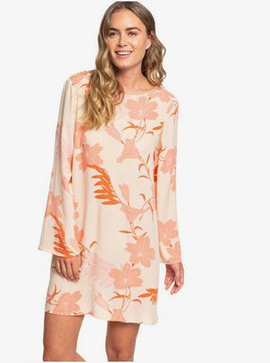 Dusk Till Down Long Sleeve Floaty Dress